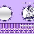 Plum Retro Recipe Book by Tracey Quick