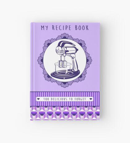 Plum Retro Recipe Book Hardcover Journal