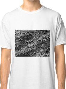 Swirls and Spots - Gray Classic T-Shirt