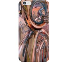 Abstract Reflecting Rings iPhone Case/Skin