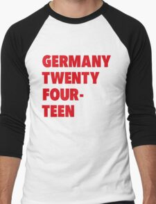 Team Germany for the World Cup 2014 Men's Baseball ¾ T-Shirt
