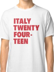 Team Italy for the World Cup 2014 Classic T-Shirt