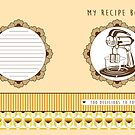 Lemon Retro Recipe Book  by Tracey Quick