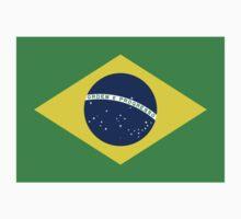 Brazilian Olympics T-Shirt Brazil Olympic Games, Brasil Football World Cup Sticker  One Piece - Long Sleeve