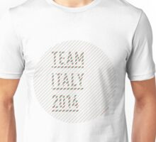 Team Italy for the World Cup 2014 Unisex T-Shirt