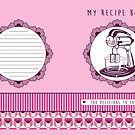 Rose Retro Recipe Book by Tracey Quick