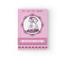Rose Retro Recipe Book Hardcover Journal