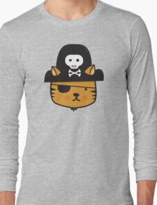 Pirate Cat - Jumpy Icon Series Long Sleeve T-Shirt
