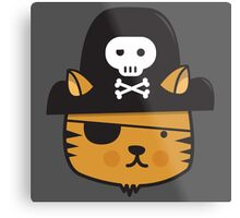 Pirate Cat - Jumpy Icon Series Metal Print