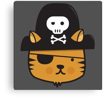 Pirate Cat - Jumpy Icon Series Canvas Print