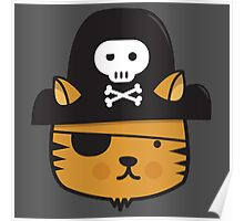 Pirate Cat - Jumpy Icon Series Poster