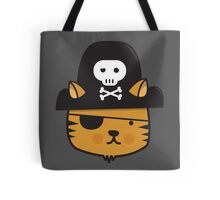 Pirate Cat - Jumpy Icon Series Tote Bag