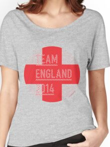 Team England for the World Cup 2014 Women's Relaxed Fit T-Shirt
