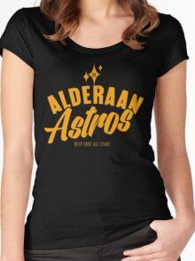 Alderaan Astros Women's Fitted Scoop T-Shirt