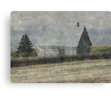 North Shore Snowstorm Canvas Print