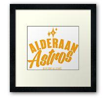 Alderaan Astros Framed Print