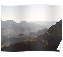 Soaring over the Grand Canyon. Poster