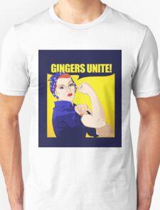 Gingers UNITE Unisex T-Shirt