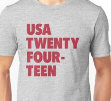 Team America for the World Cup 2014 Unisex T-Shirt