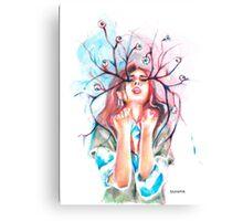 MY EYES HURT Canvas Print