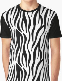 Zebra pattern Graphic T-Shirt
