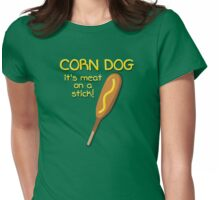 Meat on a Stick Womens Fitted T-Shirt