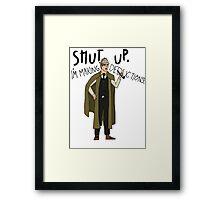 Doctor Holmes Framed Print