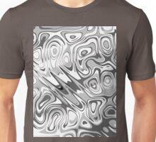 Swirls and Spots - Gray Light Unisex T-Shirt