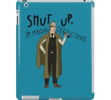 Doctor Holmes iPad Case/Skin
