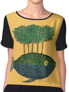 This Island Earth Women's Chiffon Top