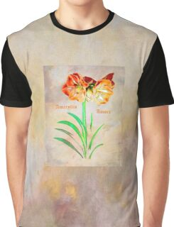 Amaryllis Amore Graphic T-Shirt