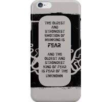 Lovecraft iPhone Case/Skin