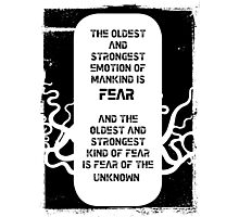 Lovecraft Photographic Print
