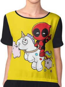 DeadPool cibby Chiffon Top