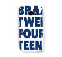 Team Brazil for the World Cup 2014 Samsung Galaxy Case/Skin