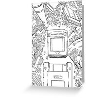 Pocket Power - COLOR ME Greeting Card