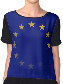 EU fading Chiffon Top