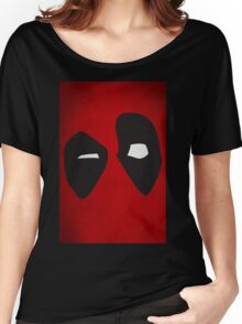 DeadPool face Women's Relaxed Fit T-Shirt