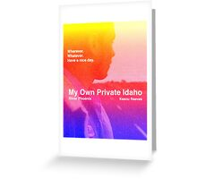 my own private idaho - sunset Greeting Card
