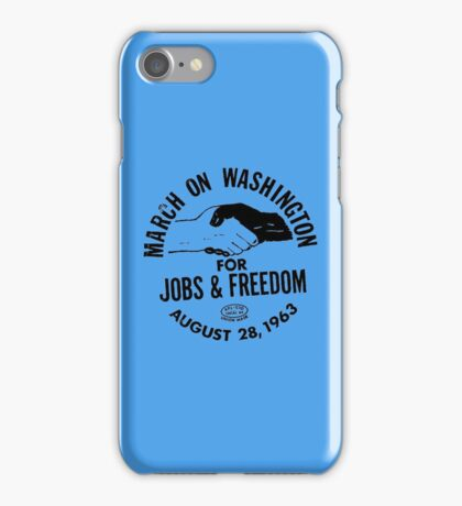 March on Washington for Jobs and Freedom iPhone Case/Skin