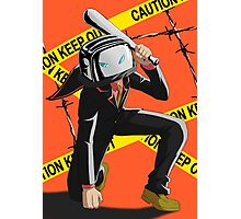 The Renegade Toaster Dangerous Landing! Photographic Print