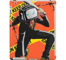 The Renegade Toaster Dangerous Landing! iPad Case/Skin