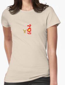 damn dragons.... Womens Fitted T-Shirt