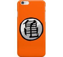 Turtle Hermit Symbol - Back iPhone Case/Skin