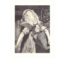 The Death of Enjolras (Michael Colbourne version) Art Print