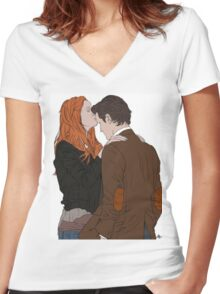 The Eleventh Hour Women's Fitted V-Neck T-Shirt