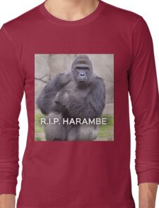 Harambe Long Sleeve T-Shirt