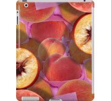 Peaches in Lavender Tissue Duvet iPad Case/Skin