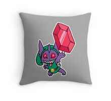 Mega Sableye Throw Pillow