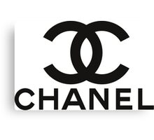 chanel Canvas Print